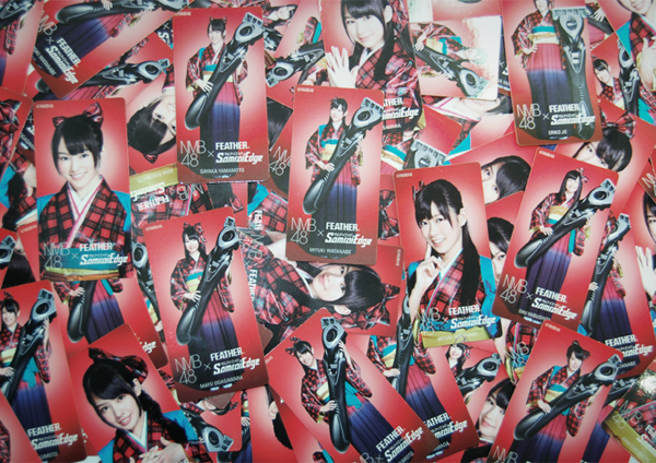 FEATHER × NMB48 Sticker 2012