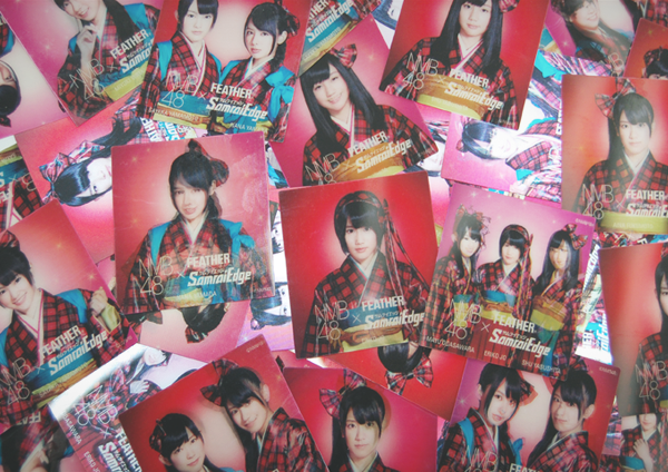 FEATHER × NMB48 Changing Sticker 2012