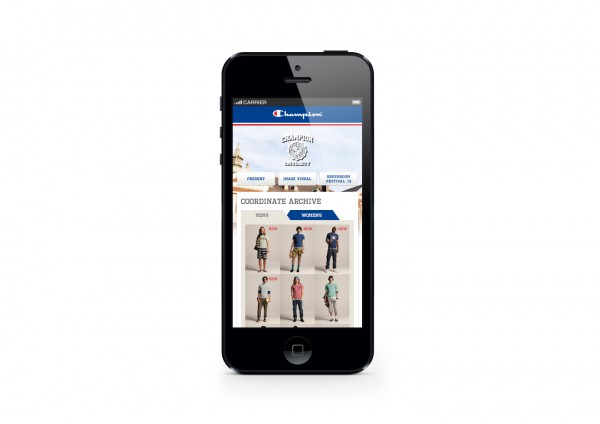 Champion Smartphone Website 2013