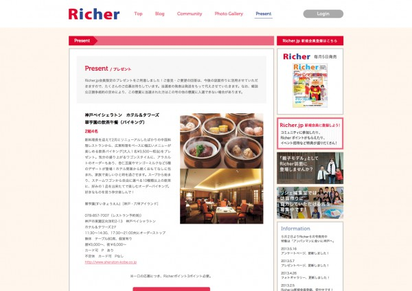 Richer Website 2013