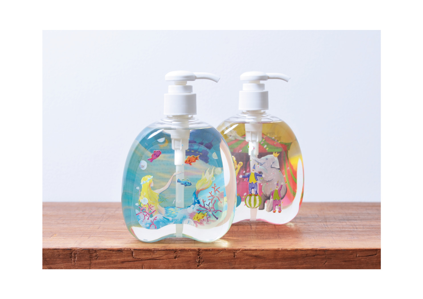 CHARLEY Snow dome Bubble Bath & Body Wash