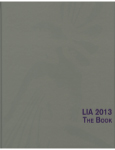 LIA 2013 THE BOOK 掲載
