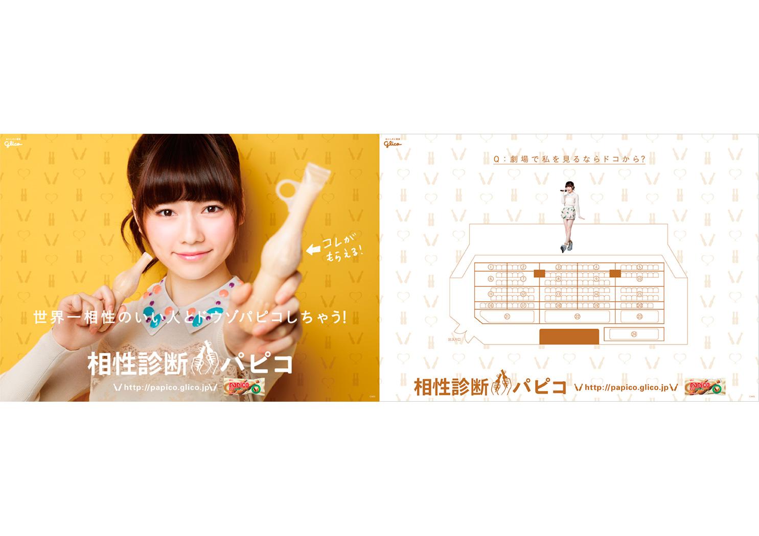 Glico papico Poster 2013