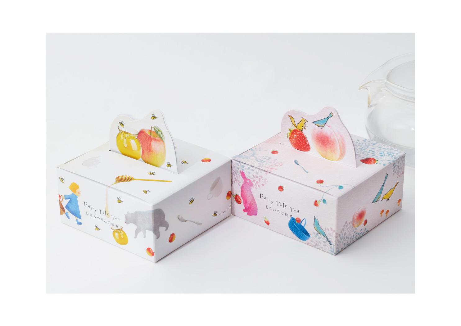 CHARLEY Fairy Tale Tea Box