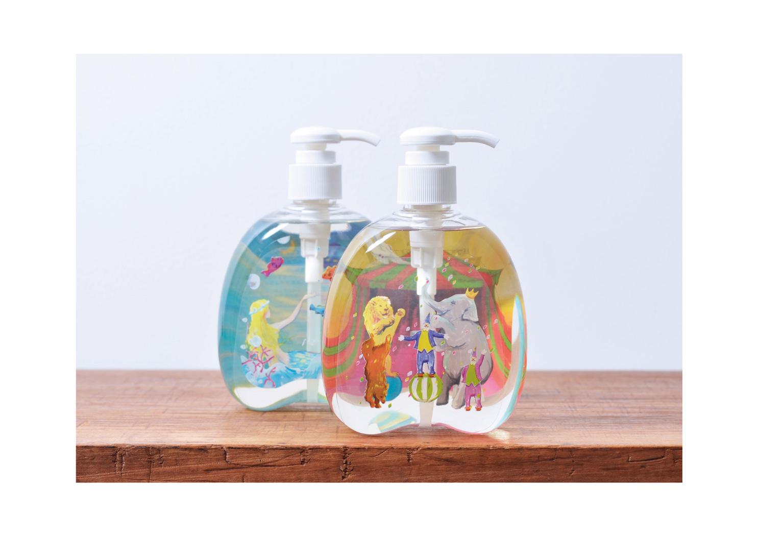 CHARLEY Snow dome Bubble Bath & Body Wash