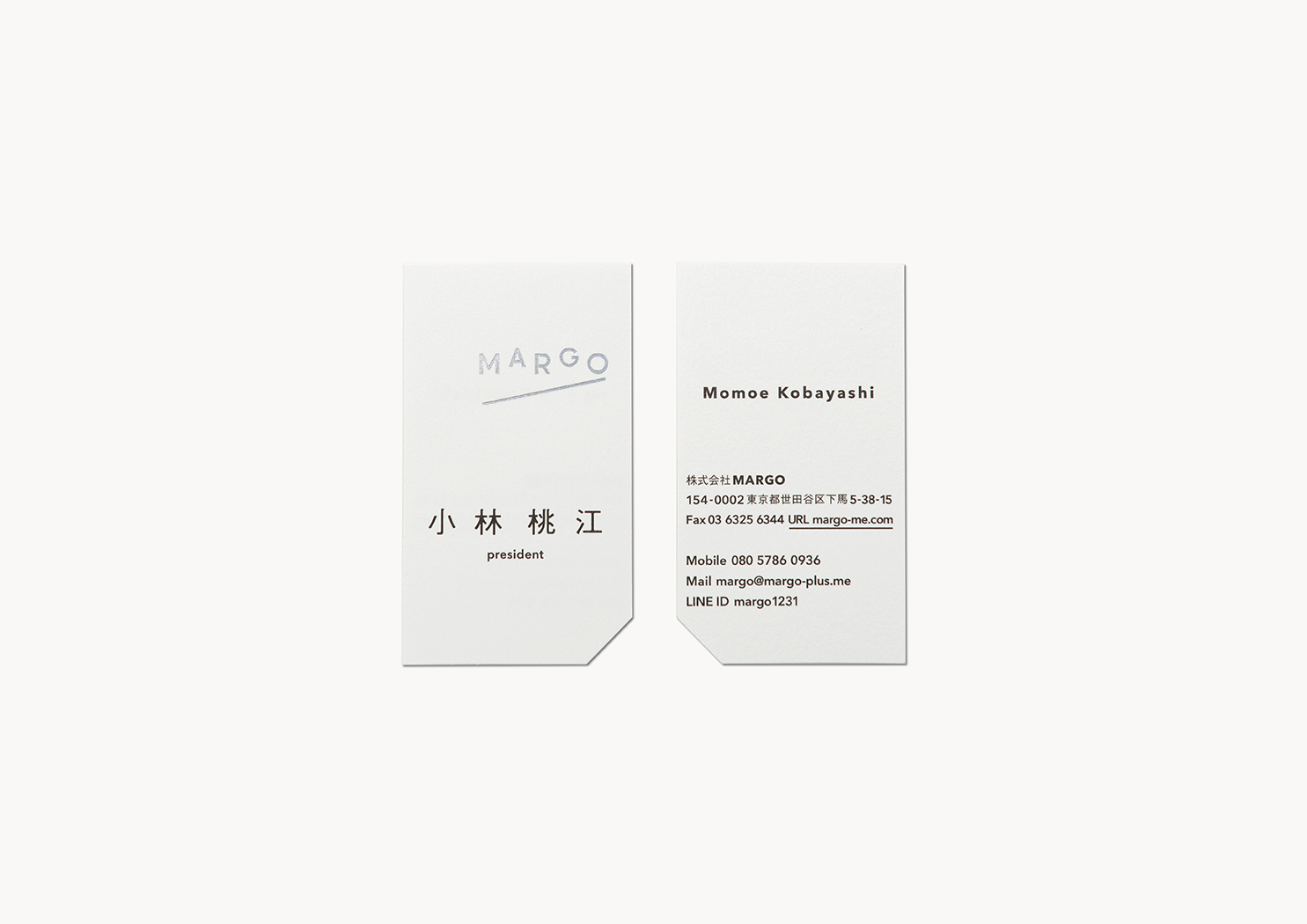 MARGO Business card