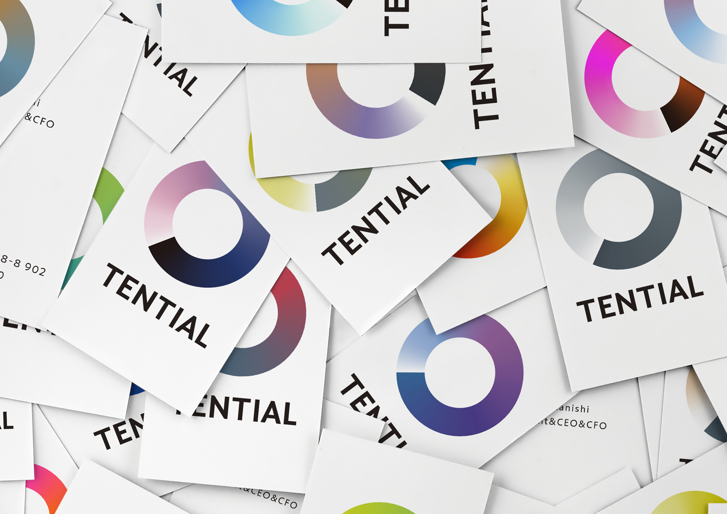 TENTIAL business card
