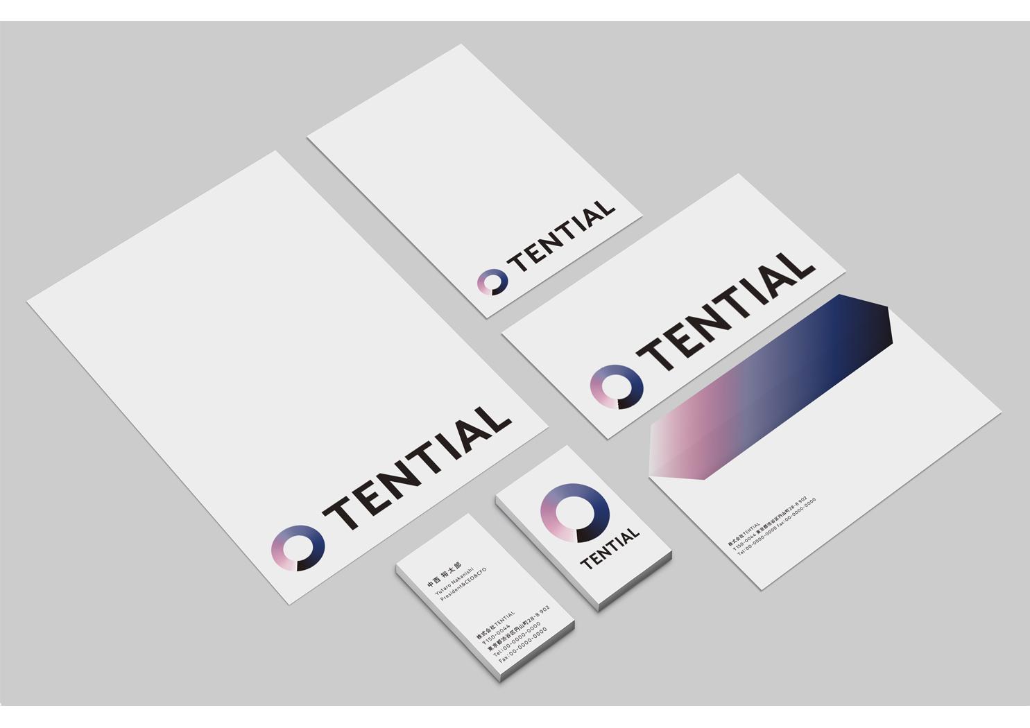 TENTIAL envelope